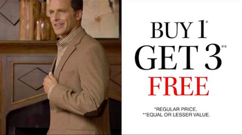 JoS. A. Bank TV Spot, 'November: Vet's Day BOG3 Suit, Sportcoat, Outerwear' - Thumbnail 7