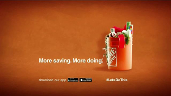 The Home Depot TV Spot, 'Get a Head Start on the Holidays' - Thumbnail 8