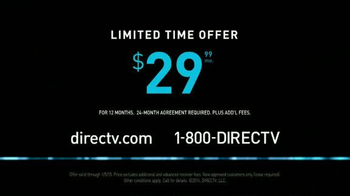 DIRECTV TV Spot, 'Crazy Hairy Rob Lowe' - Thumbnail 10