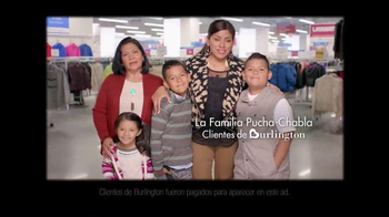 Burlington Coat Factory TV Spot, 'Familia Pucha Chabla' [Spanish] - Thumbnail 2
