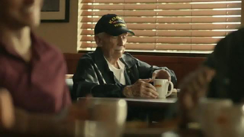 Denny's Grand Slam TV Spot, 'Veterans Day' - Thumbnail 1