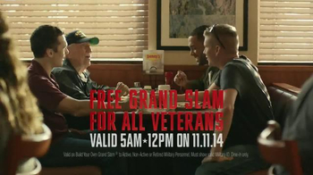 Denny's Grand Slam TV Spot, 'Veterans Day' - Thumbnail 10