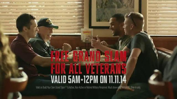 Denny's Grand Slam TV Spot, 'Veterans Day' - Thumbnail 9