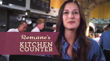 Romano's Kitchen Counter TV Spot, 'Lunch Menu' - Thumbnail 3