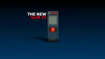 Bosch GLM 15 Laser Measure TV Spot - Thumbnail 2