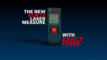 Bosch GLM 15 Laser Measure TV Spot - Thumbnail 8