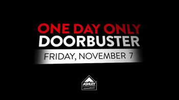 Ashley Furniture Homestore One Day Only Doorbuster TV Spot - Thumbnail 2