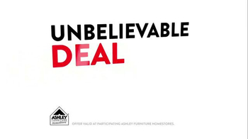 Ashley Furniture Homestore One Day Only Doorbuster TV Spot - Thumbnail 3