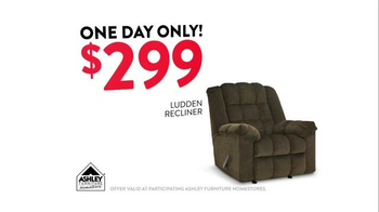 Ashley Furniture Homestore One Day Only Doorbuster TV Spot - Thumbnail 4
