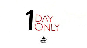 Ashley Furniture Homestore One Day Only Doorbuster TV Spot - Thumbnail 6