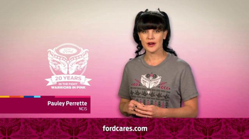 Ford Warriors in Pink TV Spot, 'NCIS' Featuring Pauley Perrette - Thumbnail 3