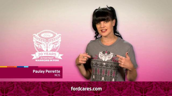 Ford Warriors in Pink TV Spot, 'NCIS' Featuring Pauley Perrette