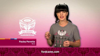 Ford Warriors in Pink TV Spot, 'NCIS' Featuring Pauley Perrette - Thumbnail 6