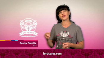 Ford Warriors in Pink TV Spot, 'NCIS' Featuring Pauley Perrette - Thumbnail 7