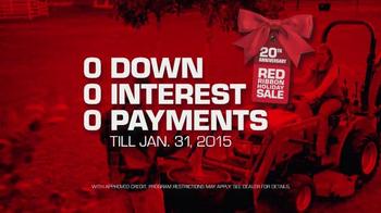 Mahindra Red Ribbon Holiday Sale TV Spot, 'Max and eMax' - Thumbnail 4