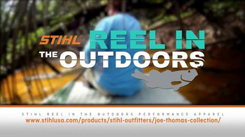 STIHL TV Spot, 'Reel in the Outdoors' - Thumbnail 7