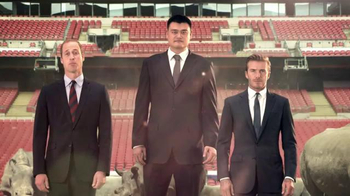 WildAid TV Spot, 'Whole World' Ft. David Beckham, Yao Ming, Prince William