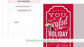 Simply to Impress TV Spot, 'Holiday Greetings' - Thumbnail 4