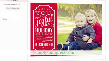 Simply to Impress TV Spot, 'Holiday Greetings' - Thumbnail 5