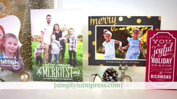 Simply to Impress TV Spot, 'Holiday Greetings' - Thumbnail 6