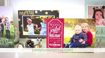 Simply to Impress TV Spot, 'Holiday Greetings' - Thumbnail 7