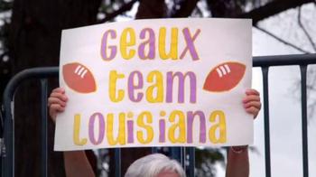 NFL Together We Make Football TV Spot, 'Team Louisiana' - Thumbnail 2