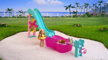 Barbie Flippin' Pup Pool TV Spot, 'Feed and Cuddle Tawny' - Thumbnail 3
