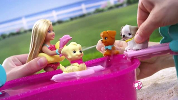 Barbie Flippin' Pup Pool TV Spot, 'Feed and Cuddle Tawny' - Thumbnail 6