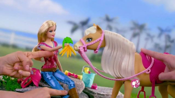 Barbie Flippin' Pup Pool TV Spot, 'Feed and Cuddle Tawny' - Thumbnail 7