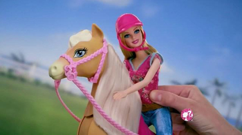 Barbie Flippin' Pup Pool TV Spot, 'Feed and Cuddle Tawny' - Thumbnail 9