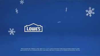 Lowe's TV Spot, 'How to Make a Snowman While Eating a Turkey Leg' - Thumbnail 8