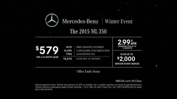 Mercedes-Benz Winter Event TV Spot, 'Glowing Example' - Thumbnail 9