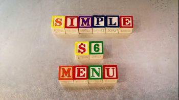 Subway Simple $6 Menu TV Spot, 'Value Made Simple'