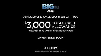 Jeep Cherokee TV Spot, 'Big Finish: Christmas Lights' - Thumbnail 10