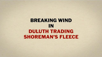 Duluth Trading TV Spot, 'Break Wind in Shoreman's Fleece' - Thumbnail 3