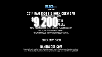 Ram Trucks Big Finish Event TV Spot, 'Wash' Song by Phillip Phillips - Thumbnail 9