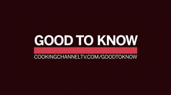 CookingChannelTV.com TV Spot, 'Good to Know' - Thumbnail 10