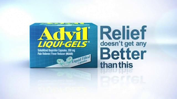 Advil Liqui-Gels TV Spot, 'Tough Pain Relief'