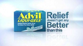 Advil Liqui-Gels TV Spot, 'Tough Pain Relief'