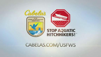 Cabela's TV Spot, 'Stop Aquatic Hitchhikers' - Thumbnail 8