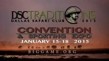 Dallas Safari Club Convention & Sporting Expo TV Spot - Thumbnail 10