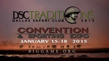 Dallas Safari Club Convention & Sporting Expo TV Spot - Thumbnail 9