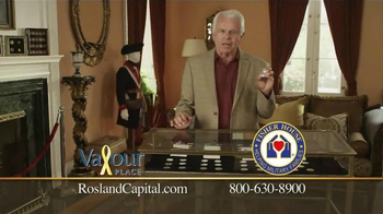 Rosland Capital Silver Maple Leaf Coin TV Spot Featuring William Devane - Thumbnail 4
