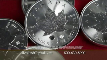 Rosland Capital Silver Maple Leaf Coin TV Spot Featuring William Devane - Thumbnail 7