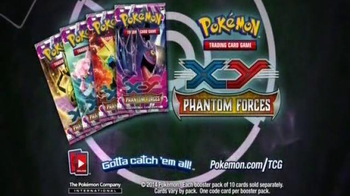 Pokemon Trading Card Game XY Phantom Forces TV Spot, 'Unleash the Powers' - Thumbnail 10