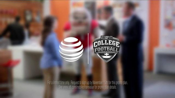 AT&T TV Spot, 'College Football: Streaming' - Thumbnail 9