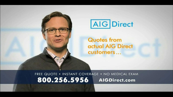 AIG Direct TV Spot, 'Accidents'