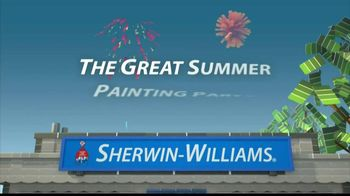 Sherwin-Williams The Great Summer Painting Party TV Spot, 'June 2013'