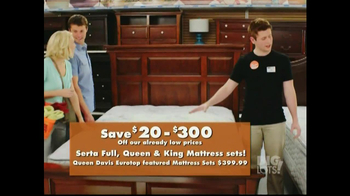 Big Lots Featured Deals TV Spot, 'Sofas, Mattress Sets' - Thumbnail 9