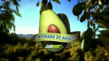 Subway Turkey and Bacon Avocado TV Spot, 'Temporada de Aguacates' [Spanish] - Thumbnail 3